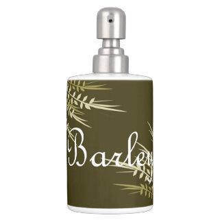 Barley Soap Dispenser & Toothbrush Holder