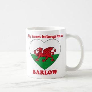 Barlow Classic White Coffee Mug
