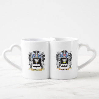 Barlow Coat of Arms - Family Crest Couples' Coffee Mug Set