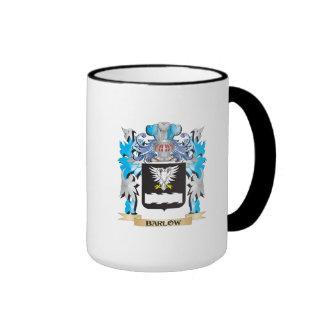Barlow Coat of Arms Ringer Coffee Mug