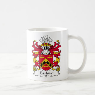 Barlow Family Crest Classic White Coffee Mug