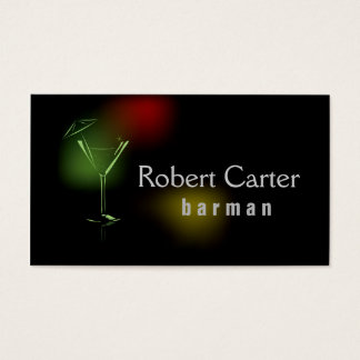 Barman / Vegetarian / Healthy Life / Raw Food Card