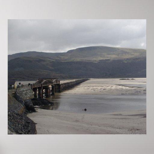 Barmouth Estuary Print
