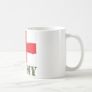 Barmy England Cricket Classic White Coffee Mug
