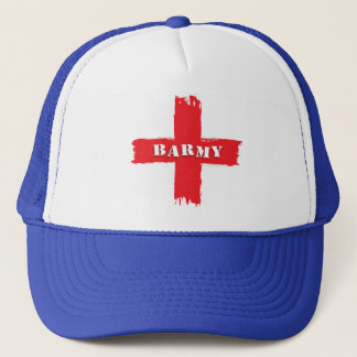Barmy England Flag Trucker Hat