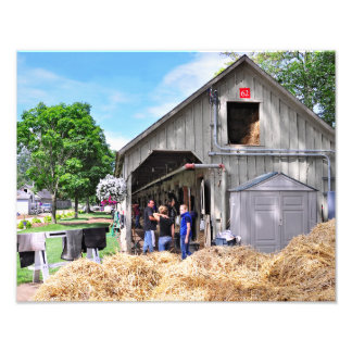 Barn #62 at Horse Haven - Saratoga Photographic Print