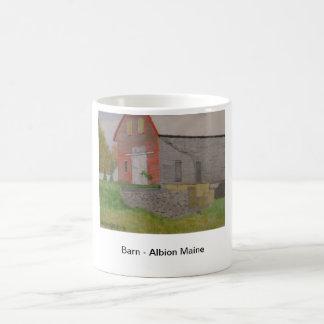 Barn - Albion Maine Classic White Coffee Mug