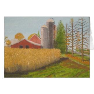 Barn Along Rte 222 - Pa. Card