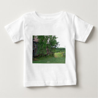 Barn and Path Baby T-Shirt