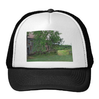 Barn and Path Hat