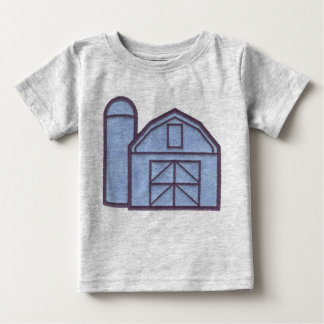 Barn and Silo Baby T-Shirt