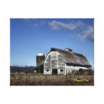 Barn and Silo Gallery Wrapped Canvas