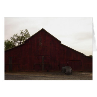 Barn at McConnell Estates Winery Stationery Note Card