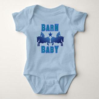 Barn Baby Boy Hunter/Jumpers Baby Bodysuit