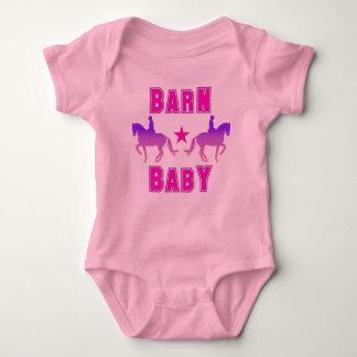 Barn Baby Girl Dressage T Shirt