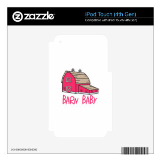 Barn Baby iPod Touch 4G Decals