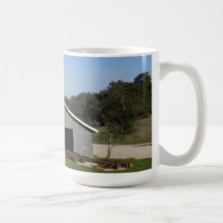 Barn Behind York Mountain Tasting Room Mug