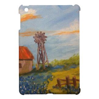 Barn & Bluebonnets iPad Mini Case