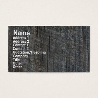 Barn Board Nature Photography Business Card