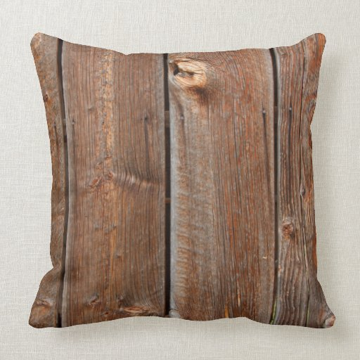 Barn Wood Pillow