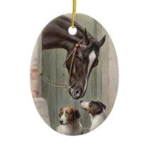 Barn Buddies Ceramic Ornament
