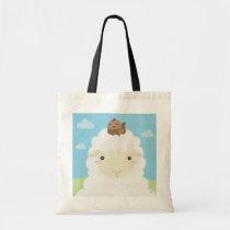 Barn Buddies - Sheep & Chick Tote Bag