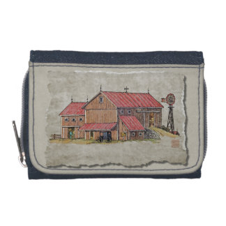 Barn Buggy & Windmill Wallets