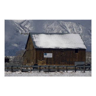 Barn, Carson Valley, Nevada Posters