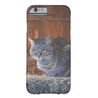 Barn Cat Painting by Steve Berger iPhone 6 case