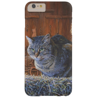 Barn Cat Painting by Steve Berger iPhone 6 Plus Barely There iPhone 6 Plus Case