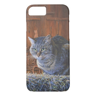 Barn Cat Painting by Steve Berger iPhone 7 case
