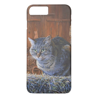 Barn Cat Painting by Steve Berger iPhone 7 Plus iPhone 7 Plus Case
