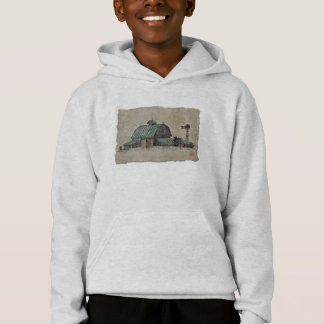 Barn Corn Crib & Windmill Hoodie