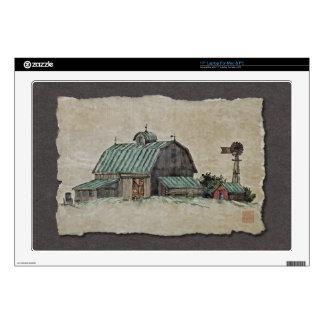 Barn Corn Crib & Windmill Skins For Laptops