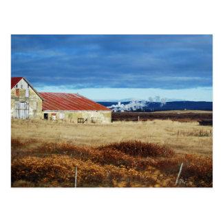 Barn Country POSTCARD