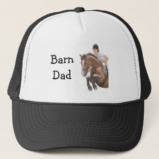 Barn Dad Horse Jumper Hat