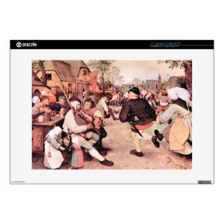Barn Dance by Pieter Bruegel Laptop Skins
