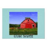 Barn Dance Invite 13 Cm X 18 Cm Invitation Card