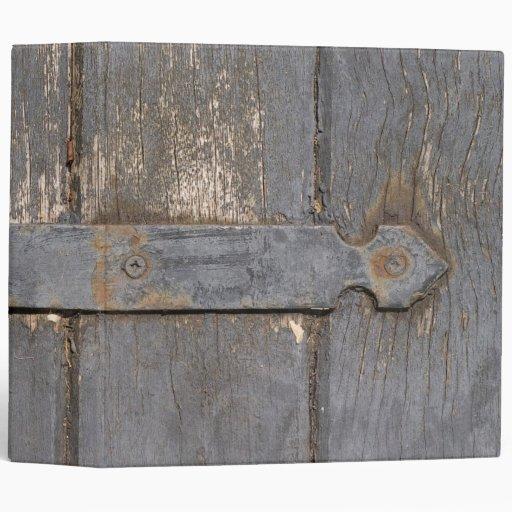 Barn Door ~Binder~ Vinyl Binders