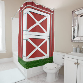 Barn Shower Curtains | Zazzle