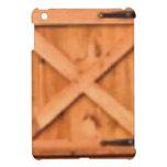 barn door wood iPad mini cases
