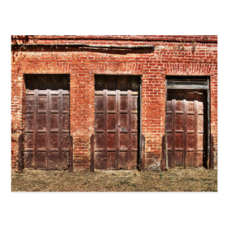 Barn Doors Postcard