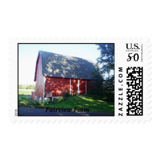 barn, Fairview Farm Postage