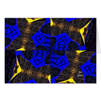BARN FLOWER CARD