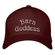 Barn Goddess Cute Horse Cap