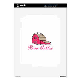 Barn Goddess iPad 2 Decal