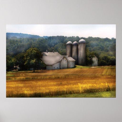 Barn - Home on the range Print