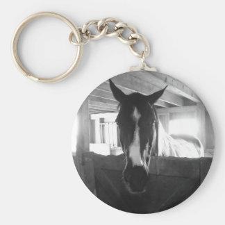 Barn Horse Keychain