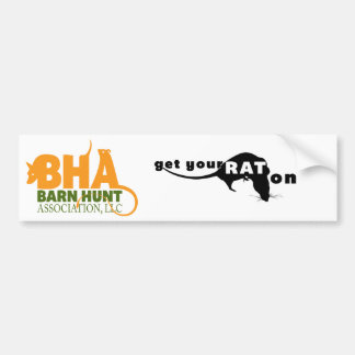 Barn Hunt Association LLC Logo Gear Bumper Sticker