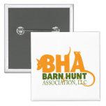 Barn Hunt Association LLC Logo Gear Pinback Buttons